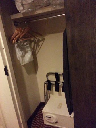 Charleston, WV: Closet with safe