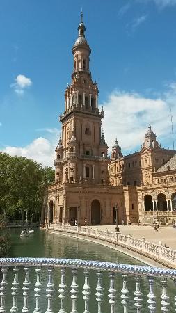 Praça de Espanha: Plaza Espana Sevilla