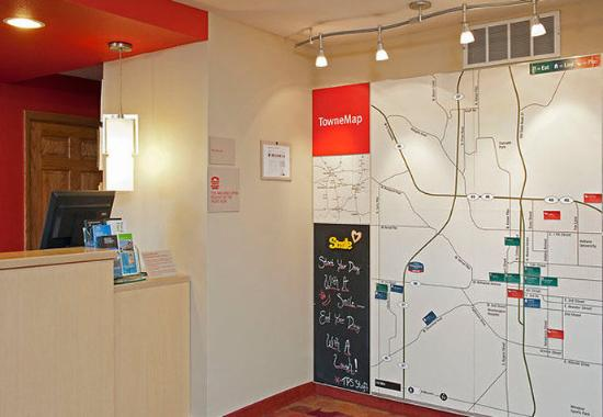 TownePlace Suites Bloomington: TowneMap