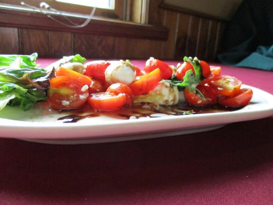 Canastota, NY: Fresh Caprese Salad with Buffalo Mozzerella