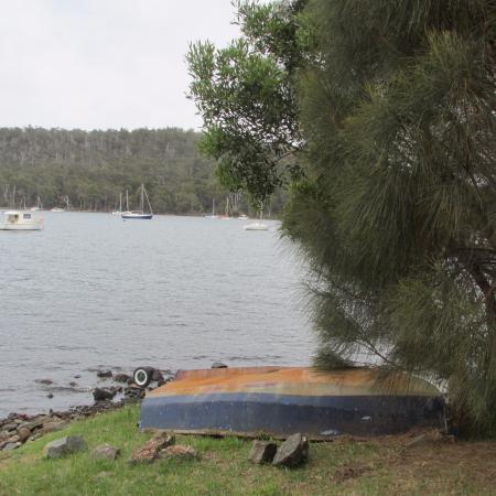 Taranna, Australia: View from porch.