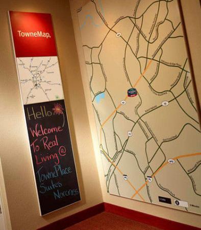 TownePlace Suites Atlanta Norcross: TowneMap