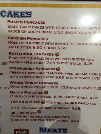 Edina, MN : If you like pancakes this is your place!