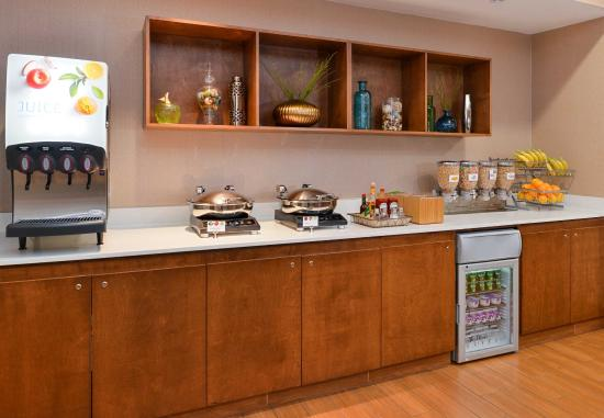 Arcadia, Californien: Breakfast Buffet