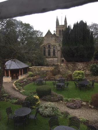 Helmsley, UK: View of their gardens