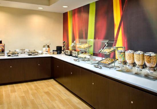 Andover, ماساتشوستس: Breakfast Area
