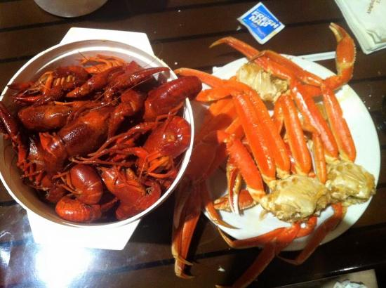 boiled crawfish snow crab legs picture of bon temps buffet rh tripadvisor com