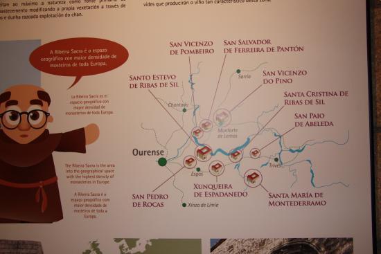 Ourense Province, Spanje: Monasterios