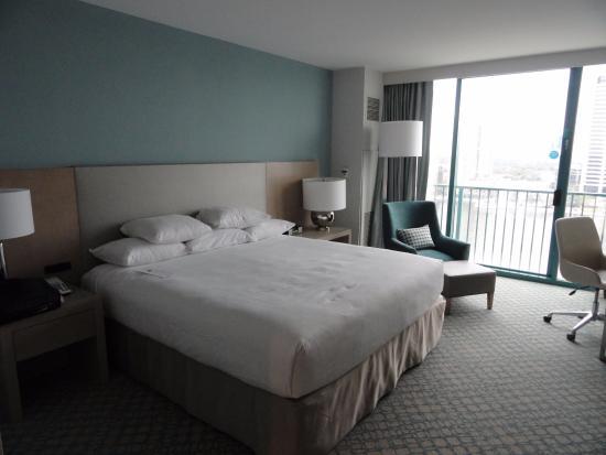 Hyatt Regency Jacksonville Riverfront: Very Clean and New Looking Room