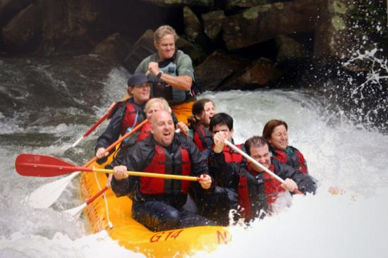 Old Edwards Inn and Spa: Whitewater Rafting On The Nantahala