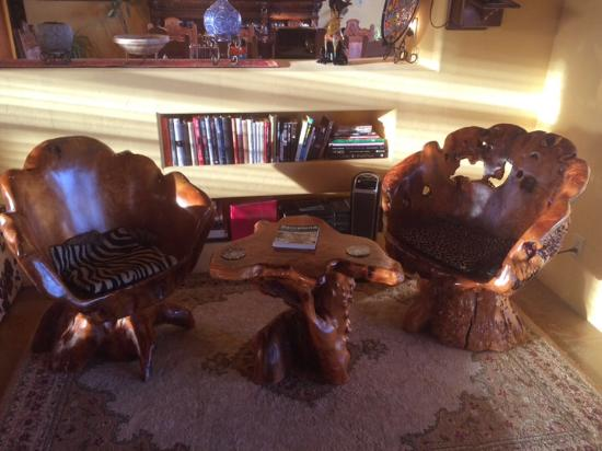 Saint David, AZ: Community room is huge, features pool table, bar shuffleboard, reading corners