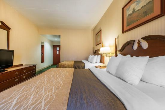 Duncansville, Pensylwania: Guest room with two queens