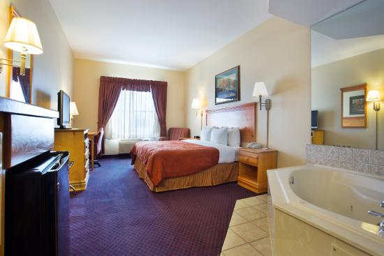 Round Rock, Τέξας: CountryInn&Suites RoundRock  WhirlpoolSuite