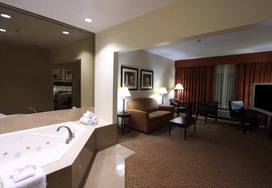 Сомерсет, Нью-Джерси: King Spa Suite Living Area