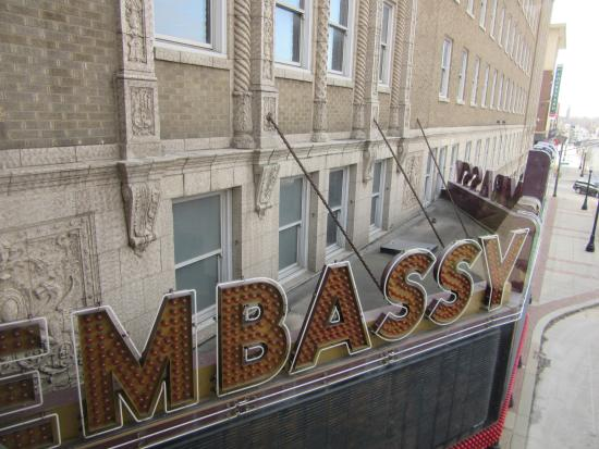 The Embassy Theatre: Embassy Theatre!