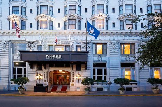 The Roosevelt New Orleans, A Waldorf Astoria Hotel: Roosevelt Way Exterior