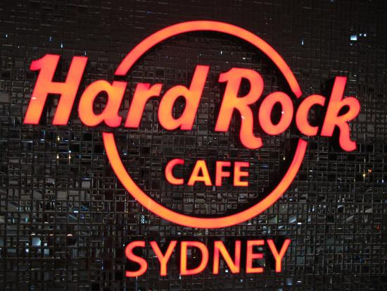 The Hard Rock Cafe Sydney