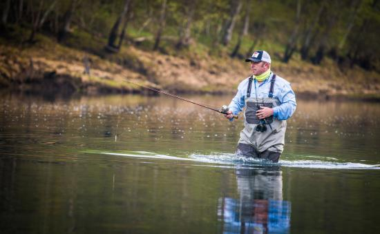 Searcy, AR: We provide spin fishing and fly fishing trips