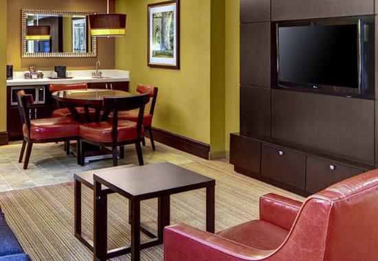 Decatur, Джорджия: King Suite Living Area