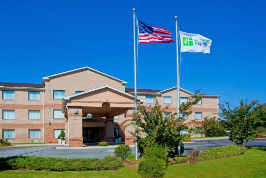 Pocomoke City, MD: Hotel Exterior