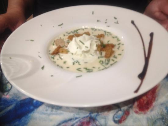 Céret, Francia: Celeriac Soup - Very Nice
