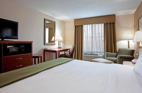 Holiday Inn Express Chapel Hill: View from King Bed