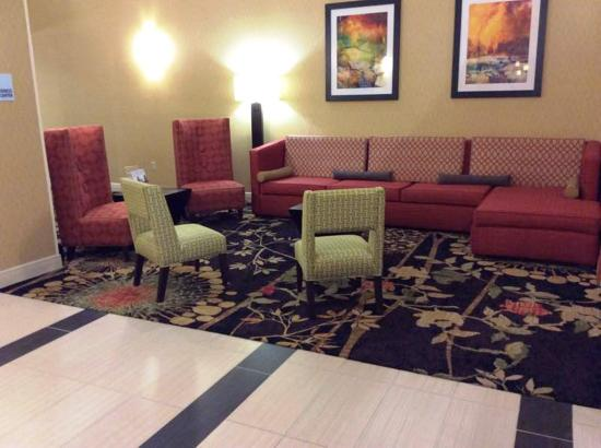 Forest, MS: Hotel Lobby