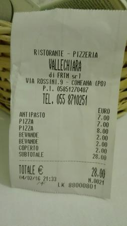 Carmignano, Italia: Ristorante Pizzeria Vallechiara
