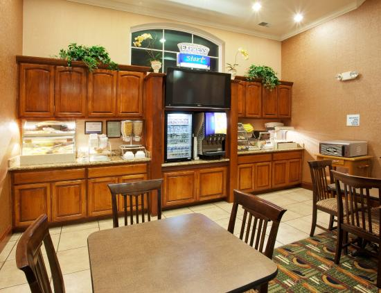 West Sacramento, Kalifornien: Breakfast Area