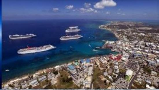 Cruise Ships In George Town Picture Of Cayman Islands
