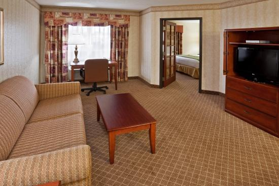 Okemos, Μίσιγκαν: Two Room King Jacuzzi Suite