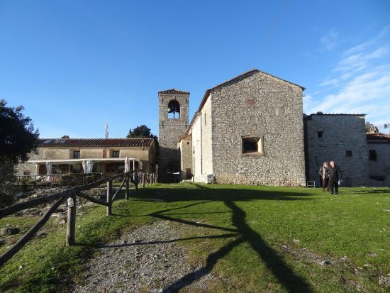 Monsummano Terme, Italie : The interior of the castle today shows an almost rural appearance