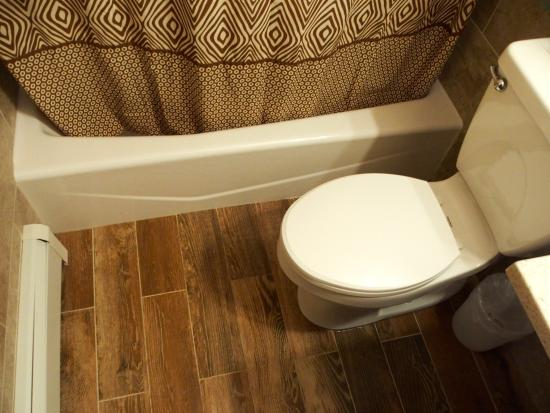Tyrolean Lodge: Bathroom