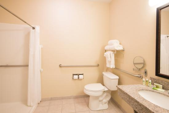 West Middlesex, Pennsylvanie : ADA/Handicapped accessible Guest Bathroom with roll-in shower