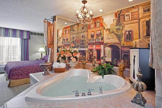 West Middlesex, Pennsylvanie : King Suite with jetted tub