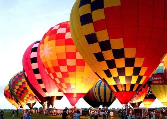 Check out the Lincoln Balloon Festival