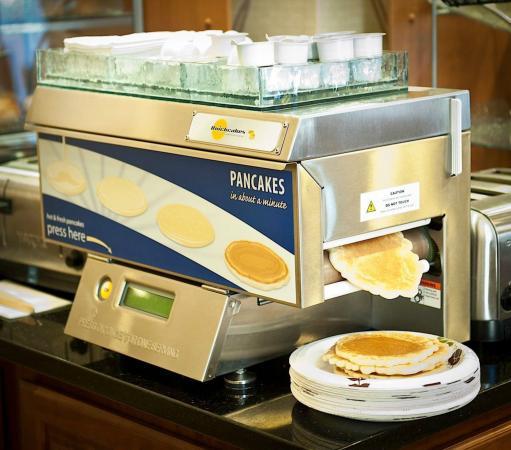 Λίνκολν, Ιλινόις: Freshly made pancakes!