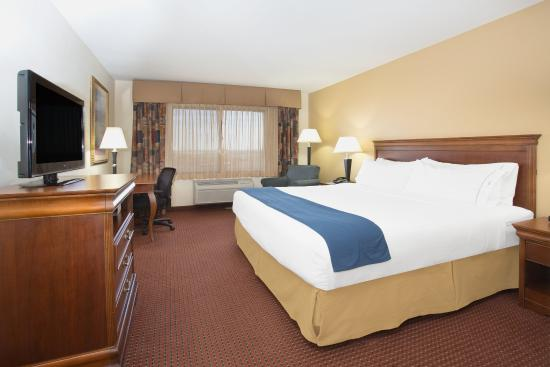 Las Vegas, New Mexiko: ADA/Handicapped Accessible King Bedded Non-Smoking Room