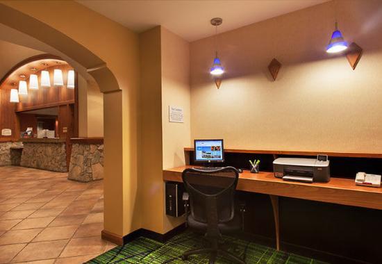 Sebastopol, Californië: Lobby Computer Station