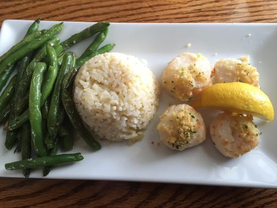 ‪‪Mattapoisett‬, ماساتشوستس: Scallops with rice‬