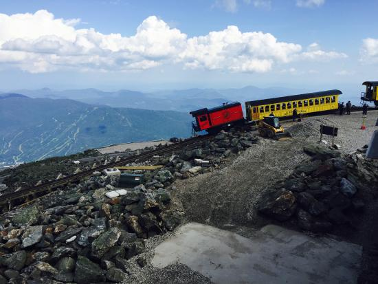 Bretton Woods, Νιού Χάμσαϊρ: Mount Washington Cog Railway