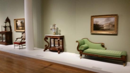 High Museum of Art : Gamla fina möbler