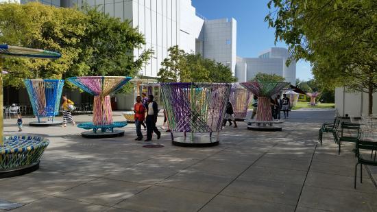 High Museum of Art : utanför massa sitt platse