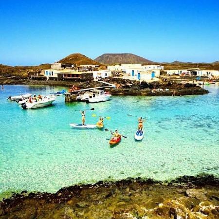 A corner of ISLA DE LOBOS, CORRALEJO: fotografía de Isla de Lobos, La Oliva -...