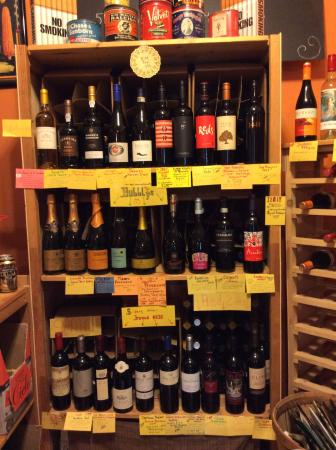 South Boston, VA: Great wine selection