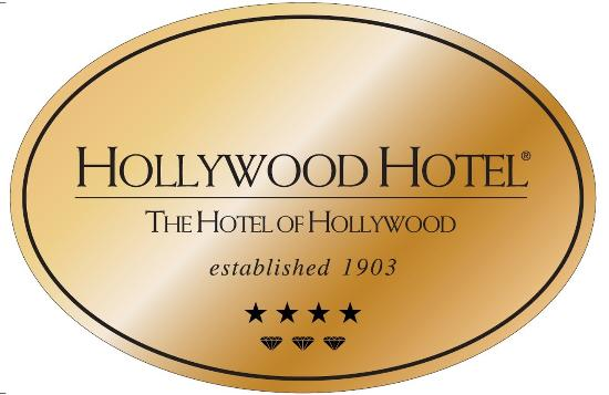 Hollywood Hotel: Brass Plaque Logo