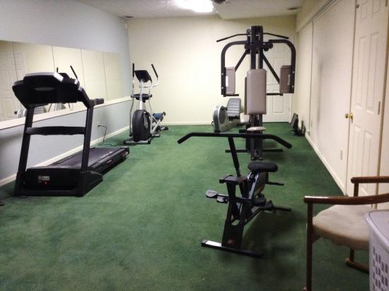 Charlevoix, MI: Fitness Room