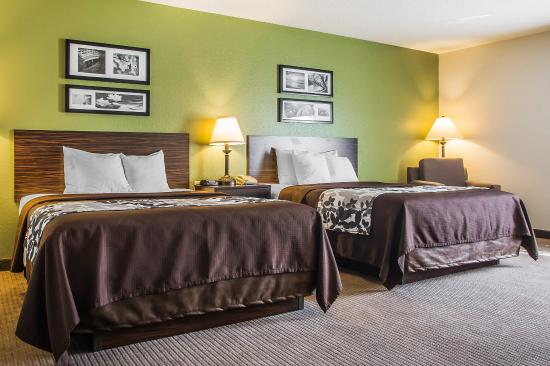 Sleep Inn And Suites Wisconsin Rapids: Guest Room