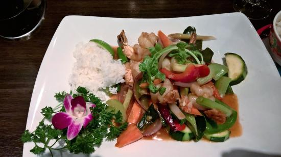 Kongsberg, Norvegia: Tasty thai dish