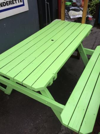 beer garden table - Picture of Fionnbarra\'s Pub, Cork - TripAdvisor